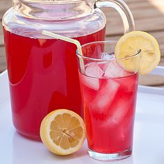 Kids in the Kitchen – Cranberry Lemonade Punch | Real Mom Kitchen