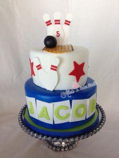 Bowling cake Alba's Cake Studio on Facebook and Instagram