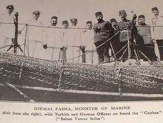 Djemal Pasha minister of Ottoman marine forces