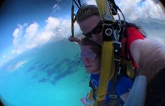 My second sky dive in Australia 2010. What a buzz!! could even see the Great Barrier Reef on the way down.  #skydiving #14000ft #missionbeach #queensland #australia #greatbarrierreef #gobigorgohome #fuckfear by geordie.gypo.micko http://ift.tt/1UokkV2