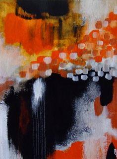 Peinture Abstraite Art Contemporain Paysage Abstrait Décoration Maison Art Original