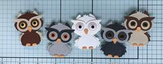 Owl Punch, Punch Art, Animal Cards, Joy, Diy Crafts, Stamps, Animals, Design, Feltro