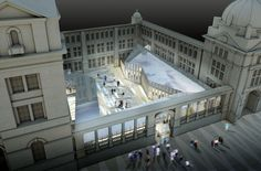 moka-studio - digital visualisation of unbuilt architecture and conceptual spaces Moka, London Museums, Photoshop Effects, Victoria And Albert Museum, Old And New, Mansions, Studio, Architecture, House Styles
