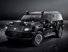 Conquest Evade Looks Ready For The Apocalypse...Pricing for the Conquest Evade starts at $579,000.  Yeah, you're not worried about gas prices and if the station runs out, you'll just go get it yourself.