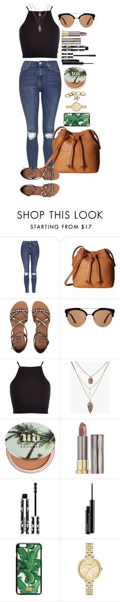 """""""Untitled #1520"""" by fabianarveloc on Polyvore featuring Topshop, ECCO, Billabong, MANGO, River Island, Urban Decay, Givenchy, MAC Cosmetics, Dolce&Gabbana and Kate Spade"""