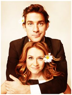 pam and jim <3