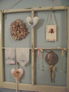 vintage window display