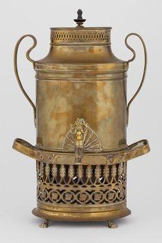 Mid-century Russian samovar