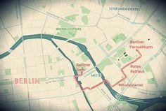 Berlin tour by foot @ daliste.com #daliste #berlin #germany #deutschland #walk #walkingtour #berlinerfernsehturm #rotesrathaus #nikolaiviertel #berlinerdom #berlinmap #berlinmitte