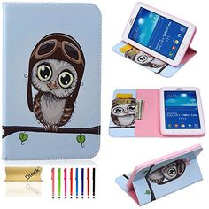 Galaxy Tab 3 Lite 7.0 Case, Dteck(TM) Colorful Stylish Printed Series PU Leather Flip Folio Stand Cover with Card/Money Slots for Samsung Galaxy Tab 3 Lite 7.0 SM-T110/T111 (03 Big Eyes Owl) Dteck http://www.amazon.com/dp/B018LBH1JM/ref=cm_sw_r_pi_dp_w9WKwb0CH36NC