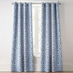 wholeHome CONTEMPORARY(TM/MC) 'Ikat' Lined Jacquard Grommet Panel