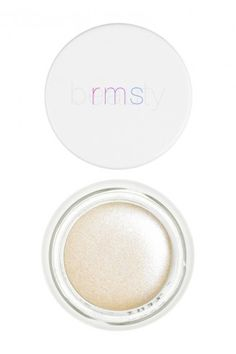 """14 London It Girls Reveal Their Spring Must-Haves #refinery29  http://www.refinery29.com/london-spring-fashion-wish-list#slide-18  """"For me, spring is all about dewy, glowy skin. There are a lot of ways to achieve this, but using a cream highlighter like the RMS Living Luminizer creates a natural, youthful look — a must-have if you're after a sheer, luminous look without glitter.""""   RMS Beauty Living Luminizer, £30, available at Cult Beauty."""