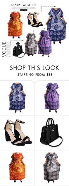 Women's Cotton Kaftan Sleepwear Maxi Dress by lavanyas-trendzs on Polyvore featuring Nasty Gal   #kaftandress #kaftannighty #kimono #lounger #coverup #longdress #maxidress #loosedress #kimonokaftan #womenkaftan #cotton #caftans #Valentinegiftforher #love #kaftansleepwear