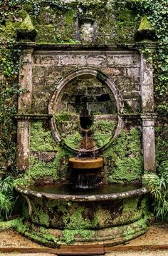 Fountain #italiangardenfountains