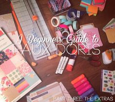 So Obsessed With: Guide to Faux Doris: The Extras