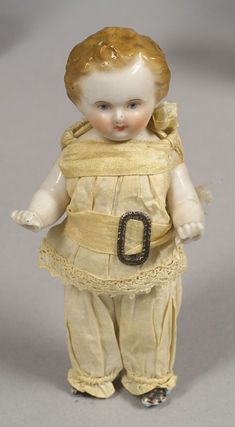 Frozen Charlie Boy with Cafe au Lait Hair, Germany, ca. 1860