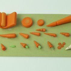 20+ Tutorials – Dolls House Miniature Vegetables   icklebits