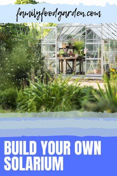 If you have an open garden of fruits and vegetables and want to expand year-round Family Food Garden recommends building your own solarium. We have compiled a valuable report that covers the benefits of maintaining your own greenhouse. Included are plans and kits for a DIY lean to greenhouses. We address choosing to plant food and/or and seed starting. Check out our ideas to help you decide what to build for year-round crops. #diysolarium #diygreenhouse #leantogreenhouse Lean To Greenhouse, Greenhouse Growing, Garden Crafts, Garden Projects, Garden Ideas, Container Gardening, Flower Gardening, Indoor Gardening, Fun Outdoor Activities