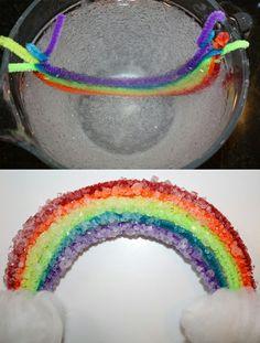 How to grow a crystal RAINBOW- FUN Science!