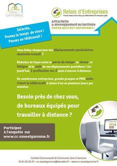enquête d'intérêt sur l'implantation d'un tiers-lieu en Save et Garonne