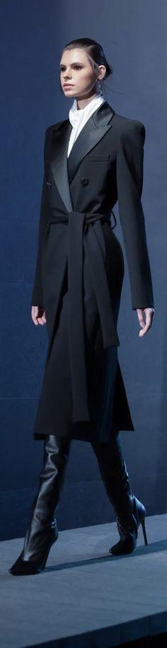 Elie Saab, Goth, Black, Style, Fashion, Gothic, Swag, Moda, Black People