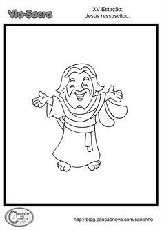 Tia Paula: Via Sacra para colorir Jesus Art, Doll Patterns, Sketches, Adventure, Halloween, Memes, No Religion, Sunday School Kids, Catechism