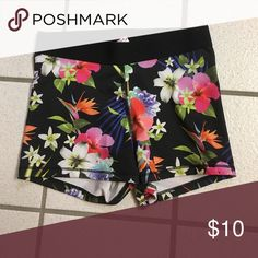 Flower So Spandex kohls brand So spandex. very comfortable and in good condition only worn a few times. So Shorts