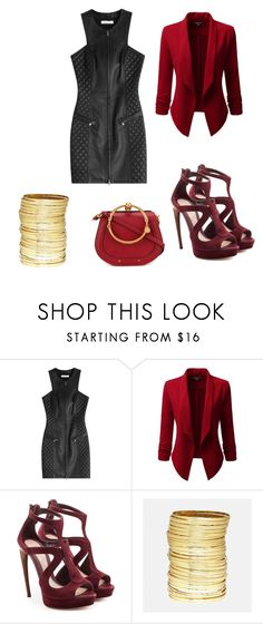 """""""Untitled #1403"""" by livy77 on Polyvore featuring Pierre Balmain, Doublju, Alexander McQueen, Avenue and Chloé"""