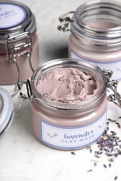 DIY Lavender Clay Face Mask