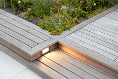 gardenista-pathway-lighting-we-design. Pathway Lighting, Deck Lighting, Exterior Lighting, Landscape Lighting, Lighting Design, Outdoor Landscaping, Outdoor Gardens, Light In, Step Light