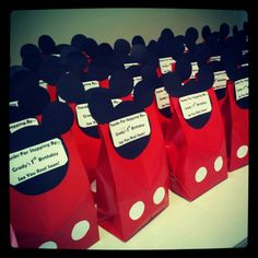 Mickey Goodie Bags