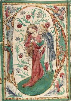 Konrad von Megenberg Das Buch der Natur — Hagenau - Werkstatt Diebold Lauber, um 1442-1448? Cod. Pal. germ. 300 Folio 80r