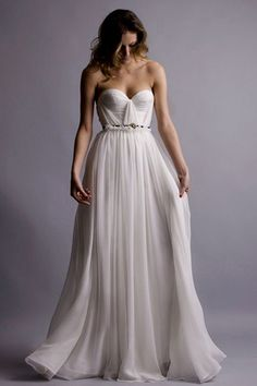 Red Doll Natural White Annie Wedding Gown, $1,195, available at Red Doll.