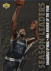 1993-1994 93-94 Upper Deck #177 Shaquille O'Neal Shaq Season Leaders ---> shipping is $0.01 !!!