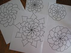 Check out the Symmetry Artist program at mathisfun.com on this post..Mixing Art and Math!
