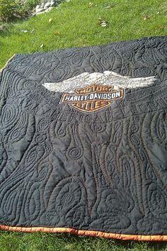 Very cool quilt! Harley-Davidson of Long Branch www.hdlongbranch.com