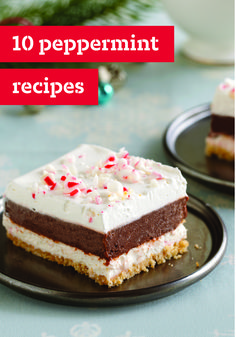 10 Peppermint Recipes – For cool, refreshing scrumptiousness, nothing beats peppermint recipes! You'll find minty parfaits, cream pies, fudge, chocolate cakes and more in this dessert collection. They perfectly complement a variety of dinner menus and leave your guests happy. Feeling a little tingly just thinking about the chilled sensation that peppermint provides? We have you covered with our warm Peppermint-Mocha Delight drink. Delicious!