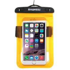 Amazon.com: Waterproof Case, HAWEEL® Transparent Universal Waterproof Bag with Lanyard for iPhone 6 & 6 Plus / 6S & 6S Plus, Samsung Galaxy S6 / S5 / Note 5, Transparent: Cell Phones & Accessories