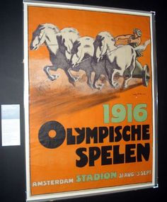 The 1916 Olympic Games were to have been held in Berlin, Germany.  However, due to the outbreak of the Great War, the Games were cancelled.