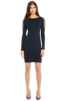 Warehouse creates clothes for the modern woman who truly lives the city. Embellished Dress, Green Dress, Dresses For Work, Classy, My Style, Warehouse, How To Wear, Blue, Clothes