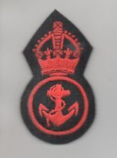 Reproduction WW II British Collectibles for sale Navy Petty Officer, Royal Navy, British Royals, Great Britain, Ww2, Badge, Ebay, Badges