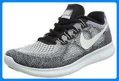 Nike Damen Free Rn 2017 Laufschuhe, Grau (Wolf Grey/Off White/Pure Platinum/Black), 35.5 EU - Sportschuhe für frauen (*Partner-Link)