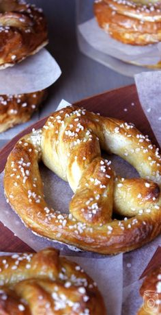 Home Made Hot Soft Pretzels oh so EASY! - The Cottage Market - - Are you in the mood for some delicious hot soft pretzels?They are just about an hour away once you check out this post! Bon Appetit My Friends!