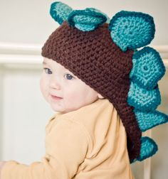@Gabby Byrnes @Rachael Smethurst    Stegosaurus Crochet Hat    I am sure you will both get a kick out of it.