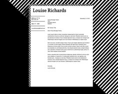 Resume Templates Copy And Paste Louise Richards Resume Template  Louise Richards Edge & Style