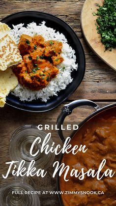 Grilled Chicken, Cooking Onions, Cooking Cream, Boneless Skinless Chicken Thighs, Indian Food Recipes, Ethnic Recipes, Red Chili Powder, Chicken Tikka Masala, Chicken Marinades