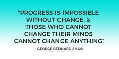 """Progress is impossi"