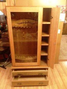 Solid Wood, Handmade Gun Cabinet