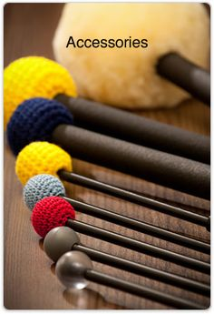 Our custom-designed mallets are essential for the best technique and sound from Malmark Handbells.  Products from Malmark