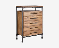 Dressers  Nightstands   Bedroom Chests   West Elm   Furniture   Scandinavian Designs   The Karsten high chest knows that floor space is  valuable  which is. Chest Bedroom. Home Design Ideas